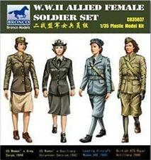 Bronco 1/35 35037 WWII Allied Female Soldier Set