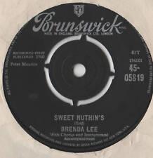 """Brenda Lee - Sweet Nuthin's 7"""" Single 1960"""