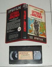 Vhs LETTERA A BREZNEV di Chris Bernard AVOFILM 1987 Alfred Molina