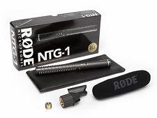 Rode NTG-1 Condenser Shotgun Microphone NTG1 NTG 1 FREE SHIPPING!