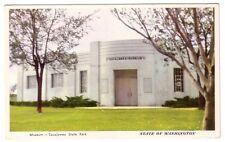 Museum Sacajawea State Park WA 1960s Postcard Washington
