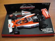 """Minichamps 1/43 McLaren Ford M23 """"British GP 1977"""" Gilles Villeneuve"""