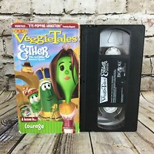 Veggie Tales Esther The Girl Who Became Queen A Lesson In Courage VHS Cassette