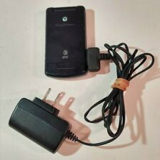 Sony Ericsson Walkman Cell Phone W518a Black (At&T)