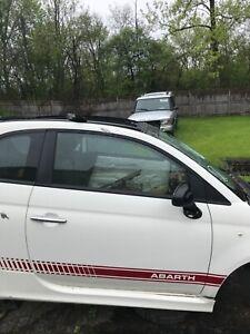 Fiat 500 Abarth passenger door