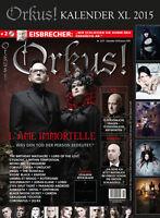Orkus! Dezember 2014/Januar 2015 + XL Fetish-Gothic Kalender 2015 + 2 CDs u.v.m.