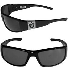 2b1c8a4b500e Oakland Raiders NFL Chrome Black Football Sports Sun Glasses (new Color  print)