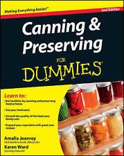 (Good)-Canning and Preserving For Dummies (Paperback)-Ward, Karen, Jeanroy, Amel