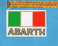 ADESIVO/STICKER - ABARTH - vintage anni 80 - cm.7,5x11