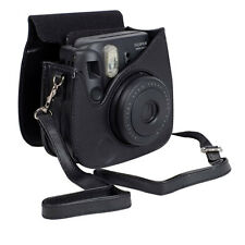 Black Case PU Leather for Fujifilm Fuji Instax Mini 8 8s Camera