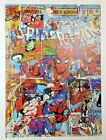 SPIDERMAN Comic Jack Vitaly Ltd Print POP ART Spider-man Far From Homecoming