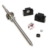 Antibacklash RM1605--360mm Ballscrew & nut+BF12/BK12+6.35x10 mm Couplering Set