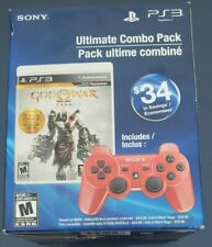 New Sealed God Of War Ultimate Combo Pack 5 Games Red Controller ps3 us seller