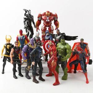 Avengers Infinity War Movie Anime Super Heros Spiderman Action Figures Toy Model