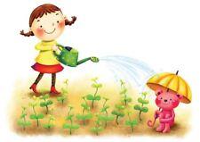 KIDS CHILDREN GARDEN A3 POSTER ART PRINT YF346