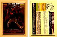 Ryan Spilborghs Signed 2006 Topps Chrome #292 Card RC Colorado Rockies Autograph