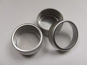 Aluminium Lip Balm / Gloss Window Tin**pack of 10** 10g