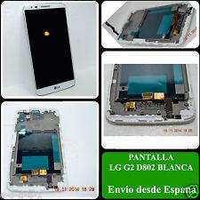 Pantalla Completa Ecran Schermo Display LCD para LG G2 D802 Blanca