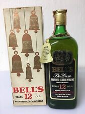 Bell's 12yo De Luxe Blended Scotch Whisky 75cl 43% Vol Vintage Old Version