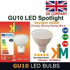 GU10 LED Bulbs Spot lights Energy rate A++ 6500K Daylight
