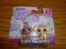 Littlest Pet Shop Series 2 Frosting Frenzy Cocolina Monkey & Macron Elephen BFFs