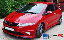 Honda Civic Mugen style front lip splitter 06 - 11  FN2 FN, FK