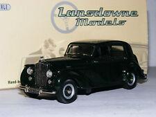 Lansdowne Models LDM64 1950 Bentley Mk VI Saloon Dark Green 1/43