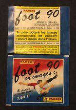 Bustina Pochette Packet Sealed Panini  France Championnat Foot Football 90 1990