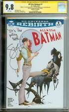 ALL STAR BATMAN #1 CGC 9.8 WHITE PAGES ID: 8457