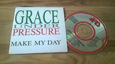 CD Indie Grace Under Pressure - Make My Day (2 Song) Promo ARS RECORDS cb