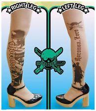One Piece Tattoo Stockings Roronoa Zoro ver. Size M-L / Women