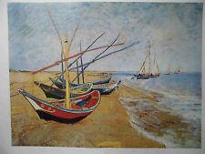 van Gogh  Barche  Kunstdruck 60 x 80 cm