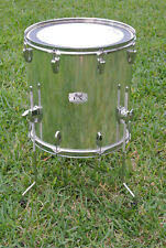 """MIRROR CHROME! PEARL EXPORT SERIES 16"""" FLOOR TOM for YOUR DRUM SET! LOT #B79"""