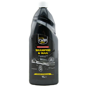 Elina Clean Car Auto SHAMPOO & WAX 1 x 1L - reinigt- glänzt- schützt -mit Wachs