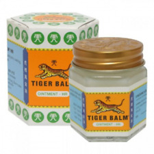 Tiger Balm Herbal Ointment 2*19.4g Relief Muscular Pain White/Red