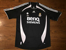 Men's XL adidas 2006-07 Real Madrid David Beckham #23 Away Soccer Jersey