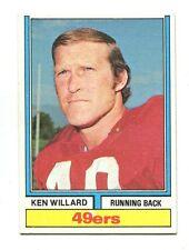1974 Topps #19 Ken Willard San Francisco 49ers