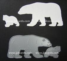 Britannia Dies - Polar Bear Family - Scrapbooking, Cardmaking, Craft Dies