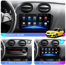 "Autoradio 9"" Android Seat Ibiza 6j 2009-2013 Navi GPS Wifi BT mirrorlink"