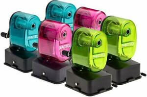 X-Acto Bulldog Vacuum Mount Manual Pencil Sharpener, Assorted Colors