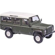 Busch 50301  Land Rover Defender, grün H0 1:87 suberb detail