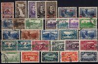 G139212/ FRENCH LEBANON – YEARS 1930 - 1945 USED SEMI MODERN LOT – CV 145 $