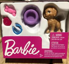 Barbie Puppy Dog Set Doll Accessories Pack Stocking Stuffer Mattel Nib