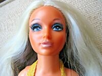 "Vintage Voluptuous 1974 Ideal Tiffany Taylor 18"" Hair Color Changing Doll"
