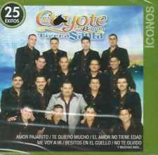 El Coyote y Su Banda Tierra Santa- ICONOS-25 EXITOS- 2 Disc -NEW