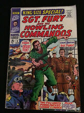 SGT. FURY Annual #5 VG- Condition