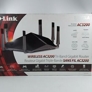 D-Link AC3200 Ultra Tri-Band Wi-Fi Router With 6 Antennas (DIR-890L)