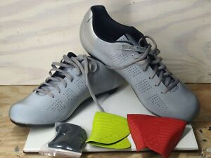 Giro Empire Acc Cycling Shoe Silver Reflective Men's Size 12.5 (EUR 46.5)