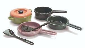 DANTOY eco friendly PLAY POTS & PANS SET Green Bean kitchen set NEW IN STOCK