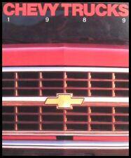 1989 Chevrolet Truck Original Sales Brochure, Blazer S-10 Full Size GM 89